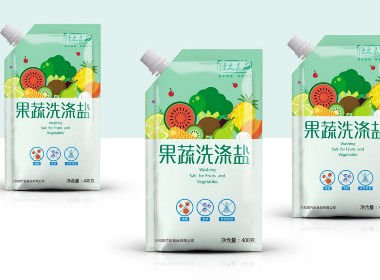 食用盐包装设计 海盐包装设计 调味品包装设计