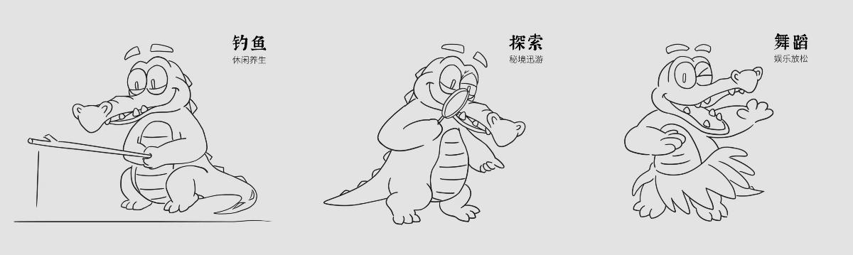 鳄鱼【盛盛】闪亮登场