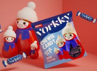 KDV软糖包装设计
