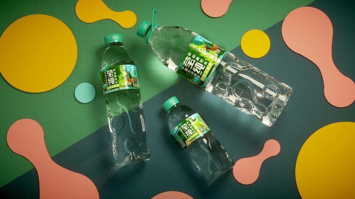 百事可乐 莹纯饮用水包装设计