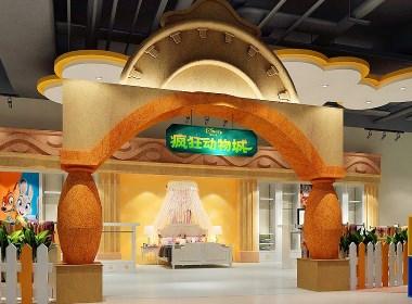 迪士尼-新絲路毛毯展廳設計-太歌空間