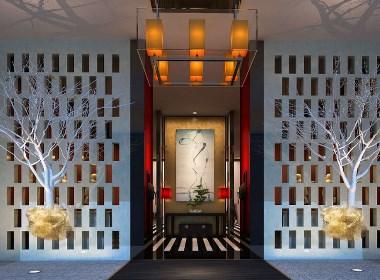 青島百辰酒店裝修設計-山東太歌裝飾