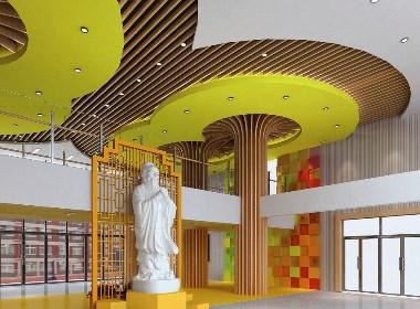 濟南流海小學校園文化建設設計-太歌創意