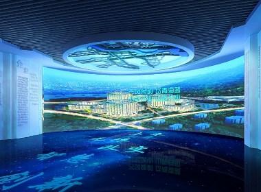 濟南創新谷展廳空間裝修策劃設計-太歌空間裝修設計