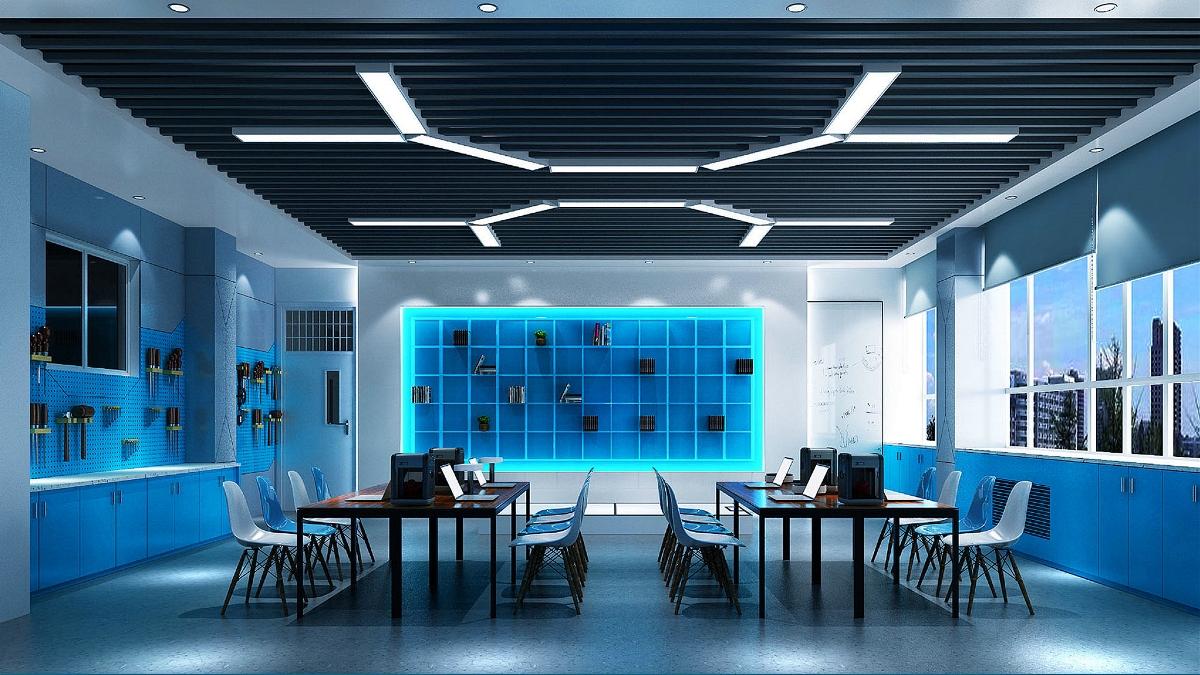济南外国语学校校园空间设计-太歌装饰