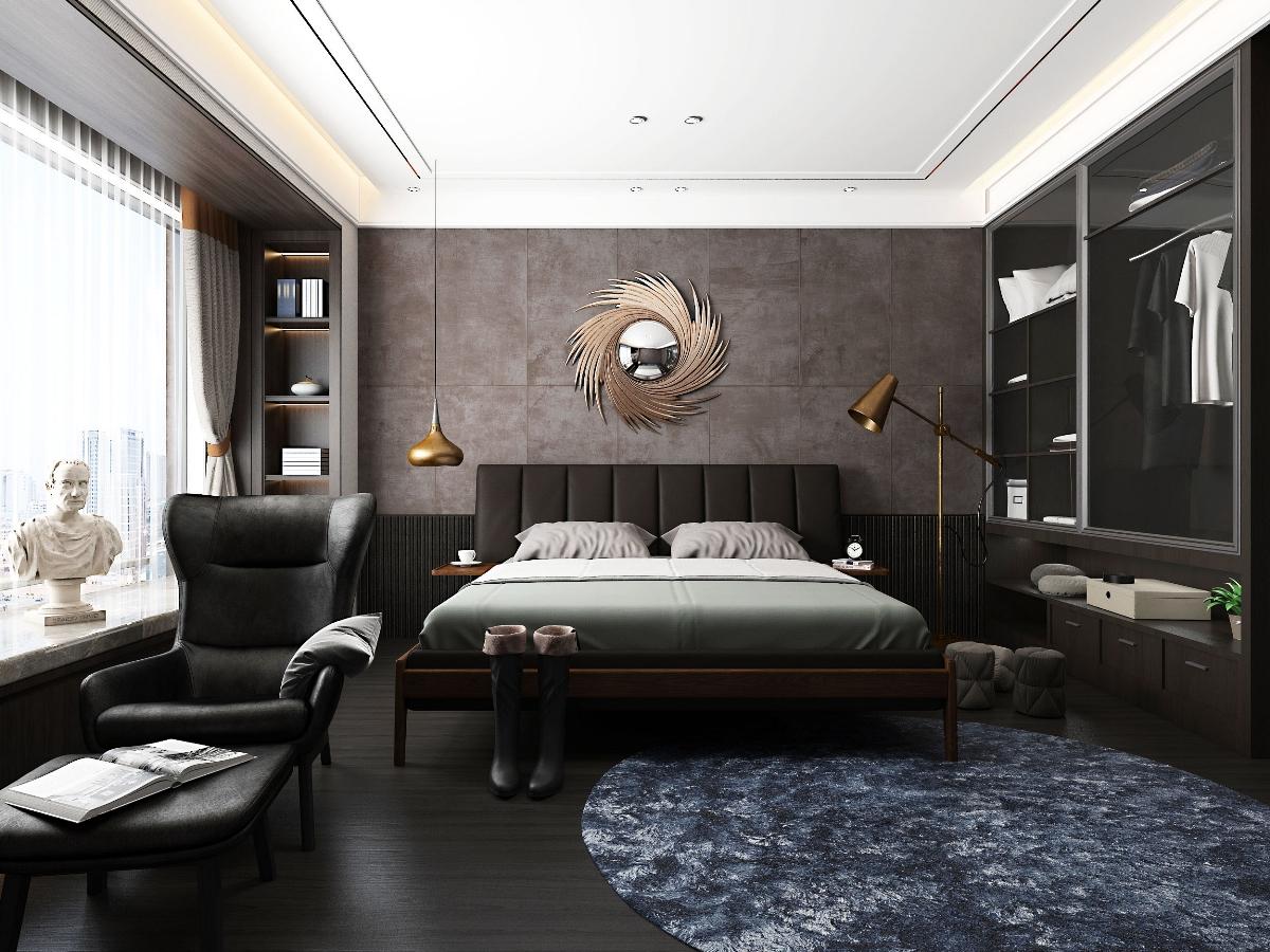 现代家装卧室