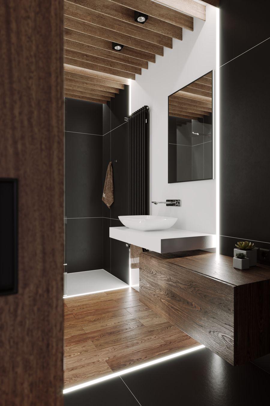 现代风格小型复式公寓