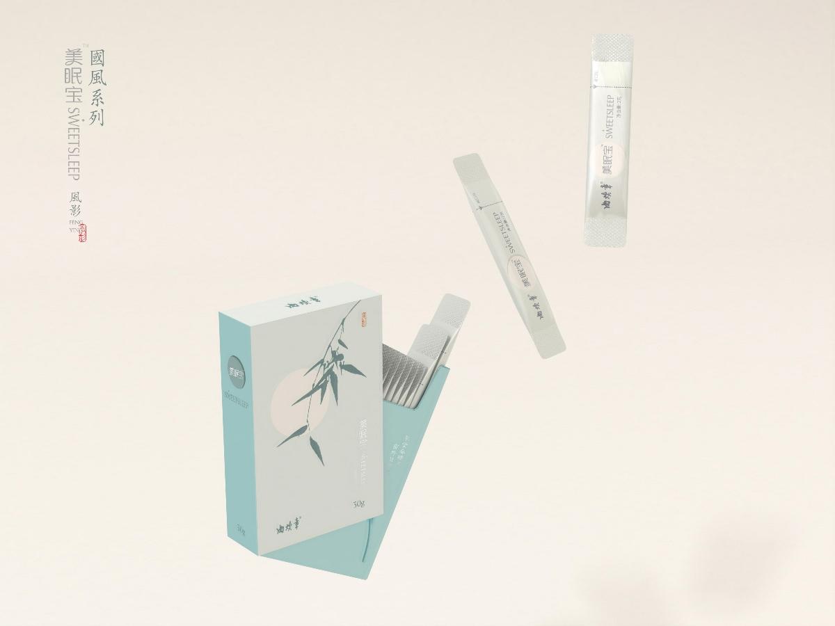 养生产品包装设计  保健食品包装设计 美眠宝