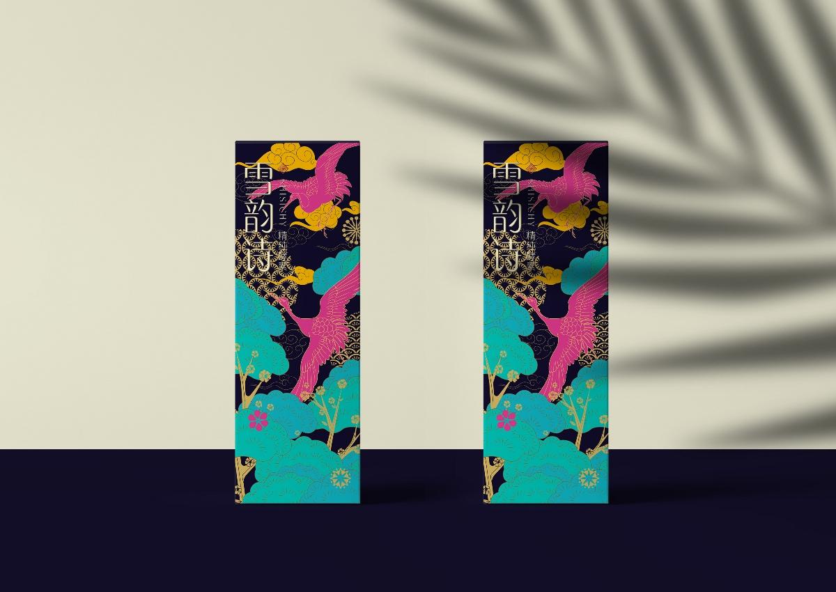 酵素护肤新中式风包装