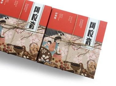 妙锦时阿胶膏包装设计