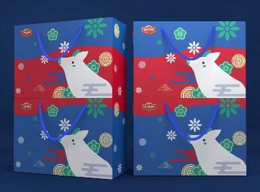 零食通用包装盒、香肠包装盒、食品包装盒、节日礼盒