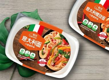 鲜禾×贾颖——意大利面包装设计