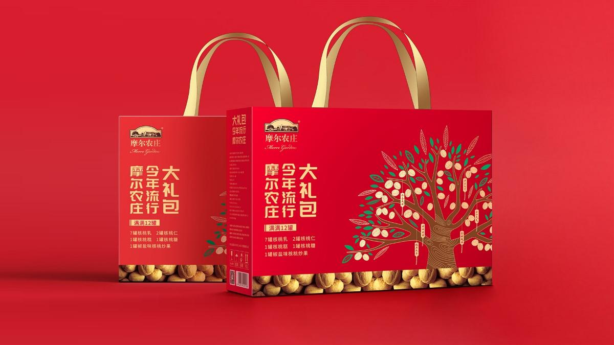摩尔农庄摩尔大礼包包装设计
