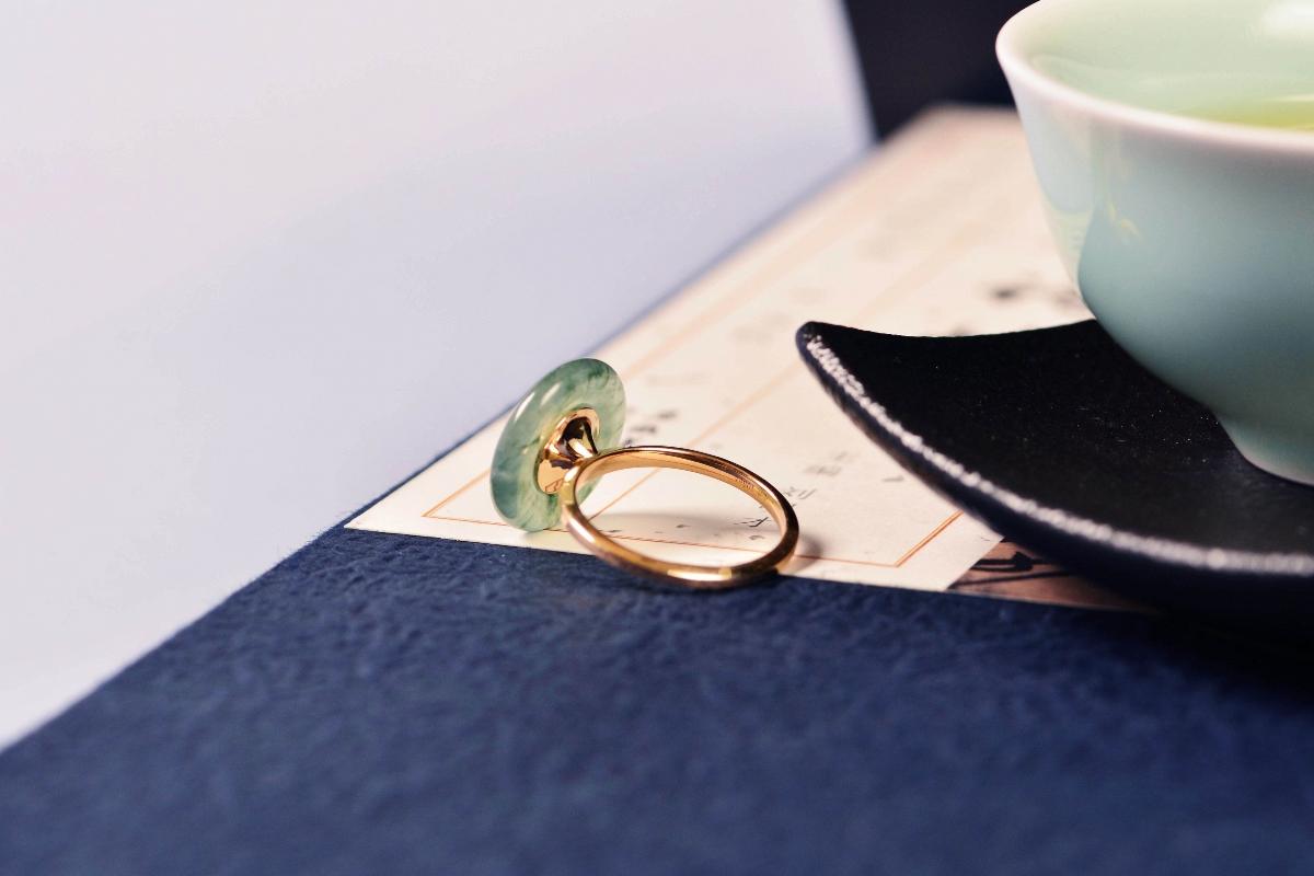 设计师作品|华美之平安扣戒指