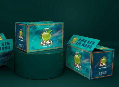 苹果平口箱包装盒、水果通用礼盒、食品包装盒、梦幻