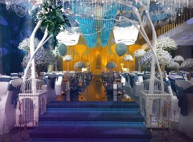 原平婚礼主题宴会厅