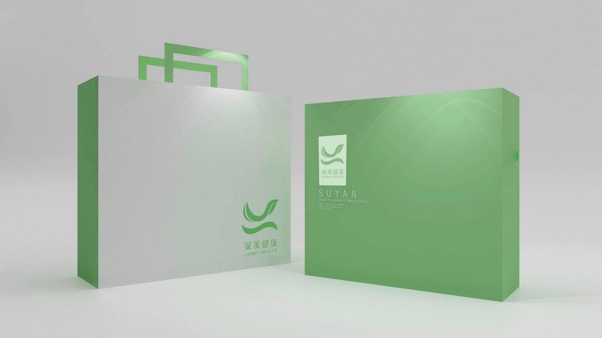 「莱美健康」品牌设计碗概念的设计图片