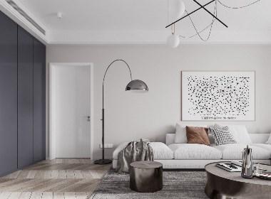 现代极简留白营造空间高级感   张旭全-欧模网