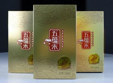 """五常""""五蕴禾""""大米品牌形象"""