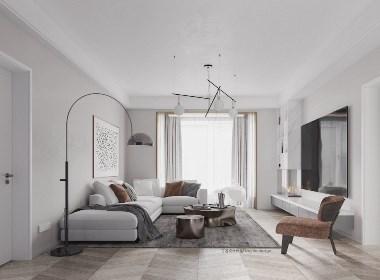 现代极简留白营造空间高级感--欧模设计圈