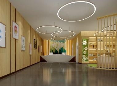 以百合为主题的精品酒店设计——天津百合精品酒店