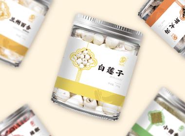 代用茶系列标签设计