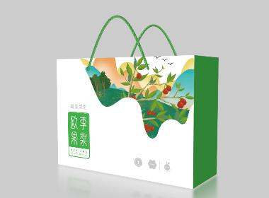 欧李果浆包装设计