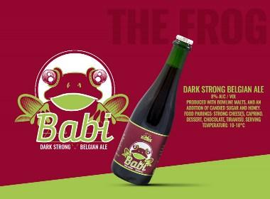 啤酒包装创意标签设计