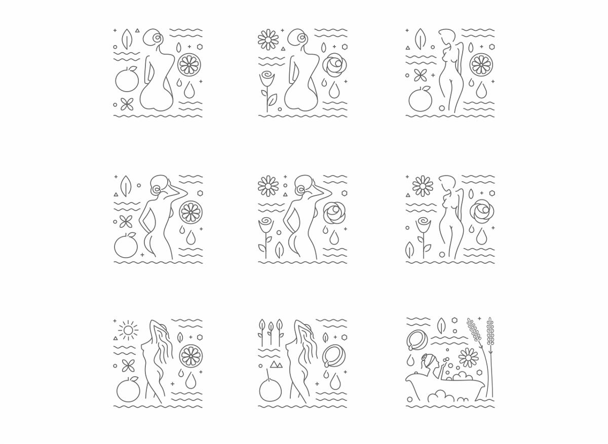施文利尔 香氛系列产品包装