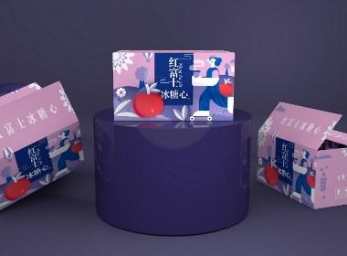 阿克苏苹果包装盒、水果包装盒、食品包装盒、节日礼盒