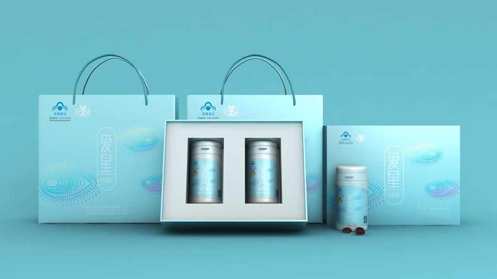 软胶囊包装设计 保健食品包装设计 医药保健包装设计