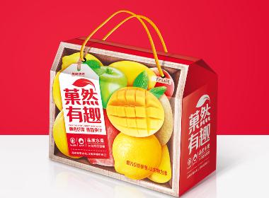 菓然有趣-水果包装设计