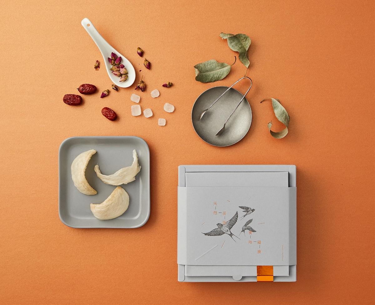 即食燕窝包装设计 丨 如殿堂级别的高端艺术品,温润了秋季时光,极简了生活品质……