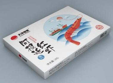 大洋世家虾类包装设计
