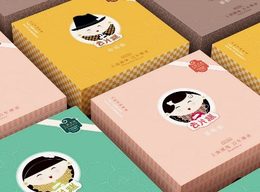 上海云片糕丨食品包裝設計