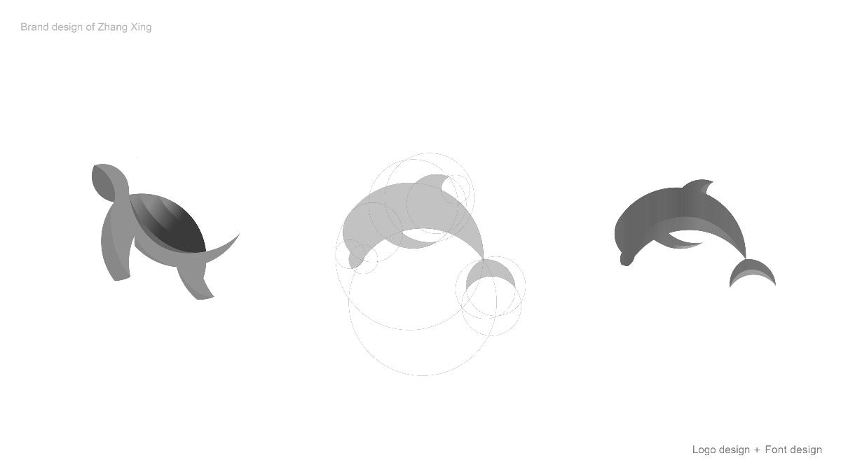 2019年3-10月张醒品牌设计 — 标志与字体作品汇总