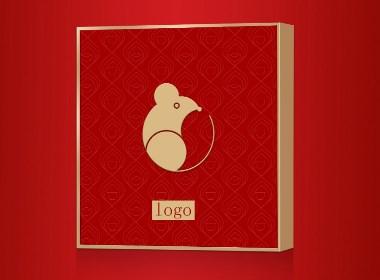 2020年中国年礼盒设计
