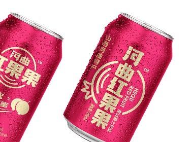 河曲红果果 碳酸饮料包装设计