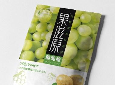 果滋原水果脆片包装设计