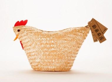 高鹏设计——限量版农产品土鸡蛋包装设计