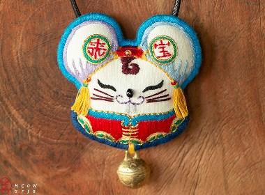 鼠生肖项链