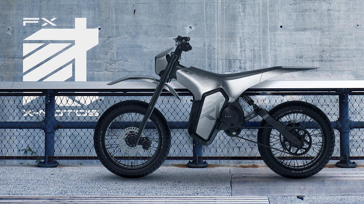 电动越野摩托车.2019