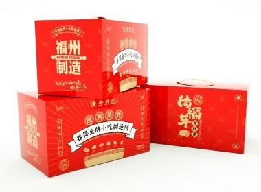 2019猪年年货礼包:金牌小吃制造所