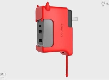 哈士奇设计原创作品 - USB充电器
