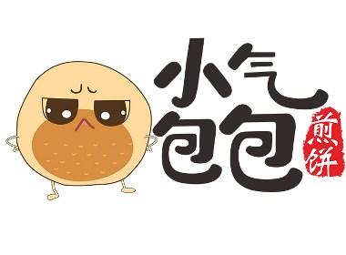元素视界-logo设计·小气包包煎饼logo设计