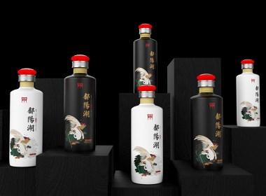 高端光瓶酒產品開發:鄱陽湖老酒包裝設計【黑馬奔騰設計出品】