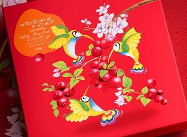 圣诞节饼干盒设计包装设计
