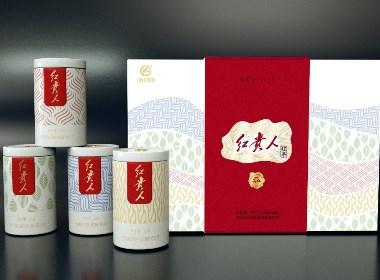 红贵人茶叶包装设计