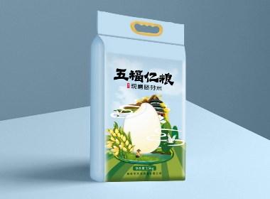 西安大米包裝設計——日作品牌(西安包裝設計 VI設計 logo設計)