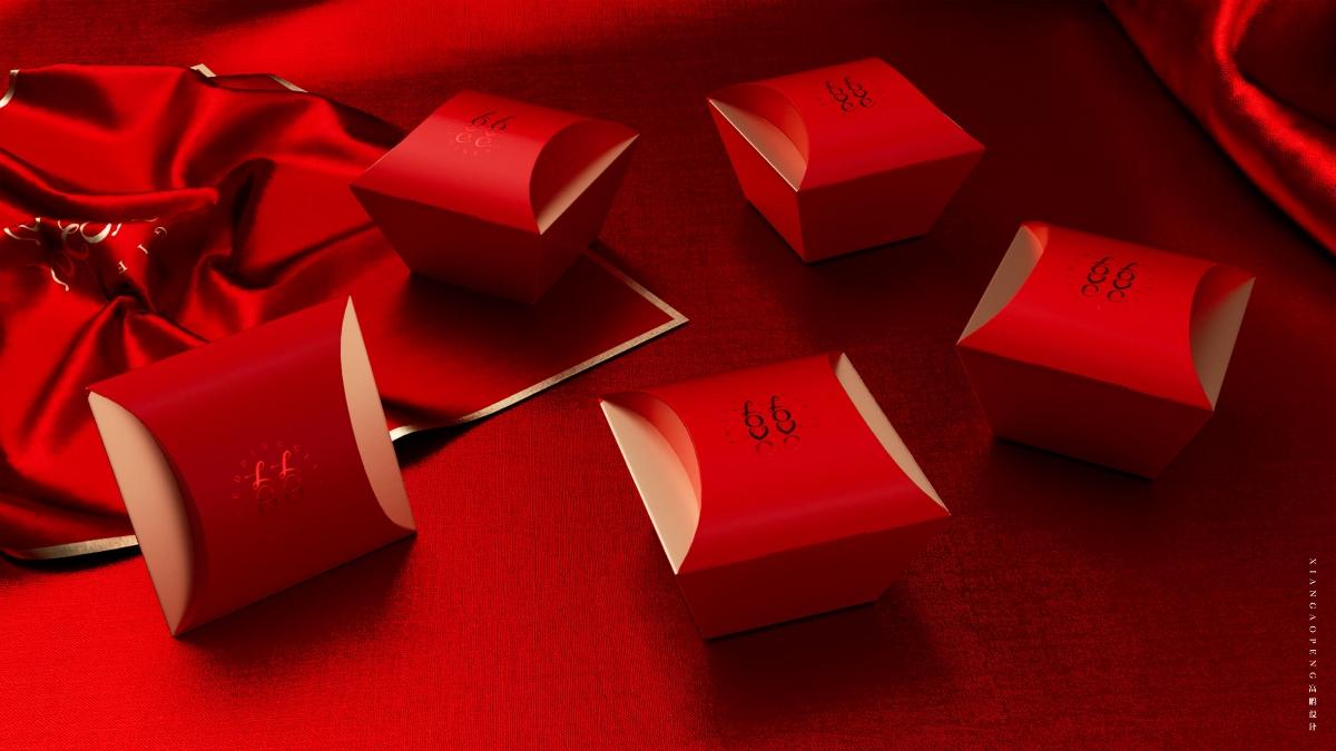 高鹏设计——爱哆哆文创婚礼包装设计